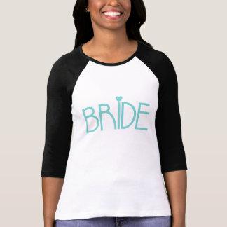 Aquamarine Braut T-Shirt