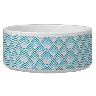Aquamarine Entwurfs-Haustier-Schüssel (groß) Napf