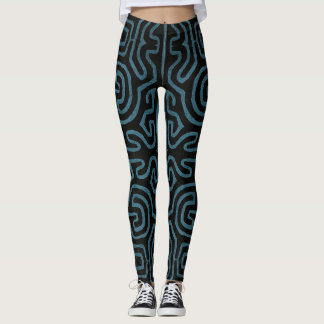 Aquamarine Straße Legging Leggings