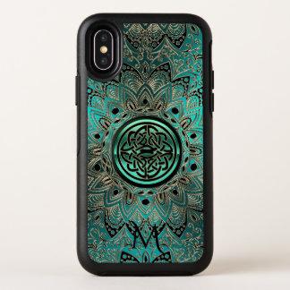 Aquamariner keltischer KnotenMandala Otterbox OtterBox Symmetry iPhone X Hülle