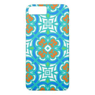 Aquamarines ethnisches Muster iPhone 8 Plus/7 Plus Hülle