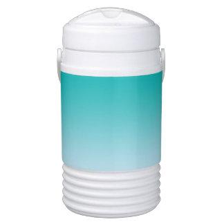 Aquamarines Ombre Igloo Getränke Kühlbox