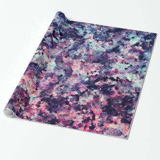 Aquamarines, rosa und schwarzes geschenkpapier