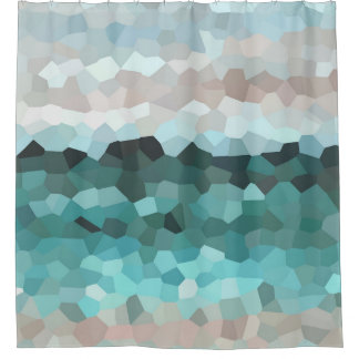 Aquamosaik des Entwurfs 86 Duschvorhang