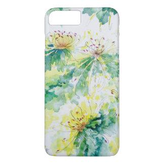 Aquarell-Chrysanthemen iPhone 6/6s Fall iPhone 8 Plus/7 Plus Hülle