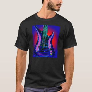 Aquarell-Gitarre T-Shirt