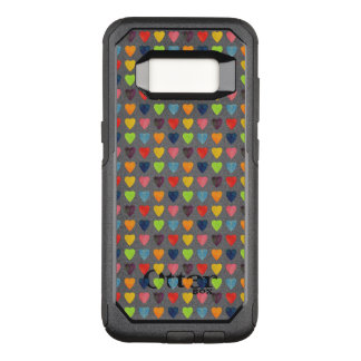 Aquarell-Herz-Muster OtterBox Commuter Samsung Galaxy S8 Hülle