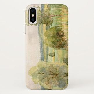 Aquarell-Landschaft iPhone X Hülle