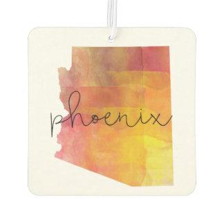 Aquarell Phoenix Arizona Lufterfrischer