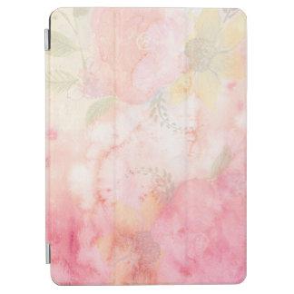 Aquarell-rosa Blumenhintergrund iPad Air Hülle