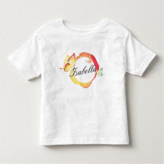 Aquarell-Schmetterlinge Kleinkind T-shirt