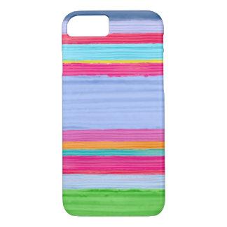 Aquarell stripes nr. 2 iPhone 8/7 hülle