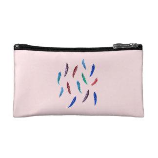 Aquarell versieht kleine kosmetische Tasche mit