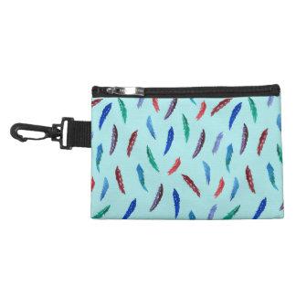 Aquarell versieht Klipp auf zusätzlicher Tasche
