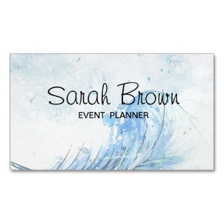 Aquarell-Visitenkarte für Event-Planer Visitenkartenmagnet