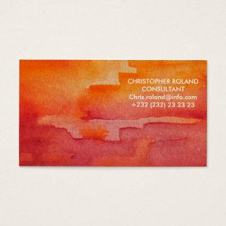 Aquarell Visitenkarten
