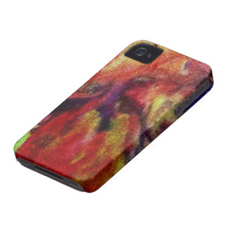 aquarelle colorée, toile-regard retouché étuis iPhone 4