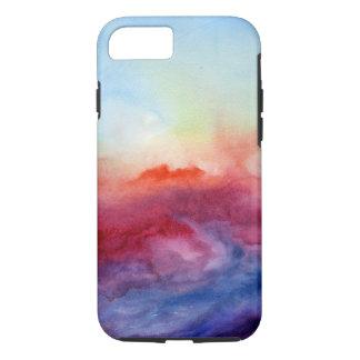Aquarelle d'arpèges coque iPhone 7