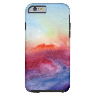 Aquarelle d'arpèges coque tough iPhone 6