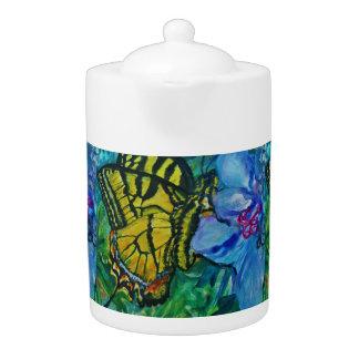 Aquarelle de papillon de machaon