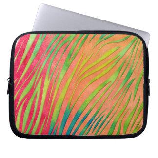 AquarellZebra Stripes Muster Computer Schutzhüllen