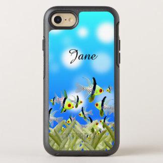 AQUARIUM Mobiltelefon-Kasten, Fische u. Meer OtterBox Symmetry iPhone 8/7 Hülle