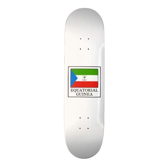 Äquatoriale Guinea 19,1 Cm Old School Skateboard Deck