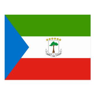 Äquatoriale Guinea GQ Postkarte