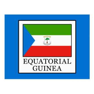 Äquatoriale Guinea Postkarte
