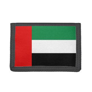 Arabische Emirate-Flaggen-Geldbörse