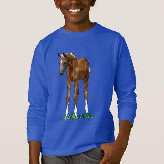 Arabisches Fohlen-mit Kapuze KinderSweatshirt T-Shirt