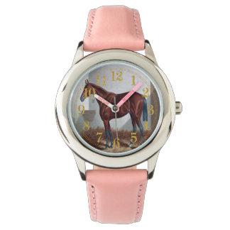 Arabisches Pferd Uhr