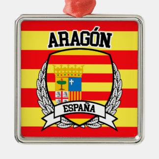 Aragón Silbernes Ornament