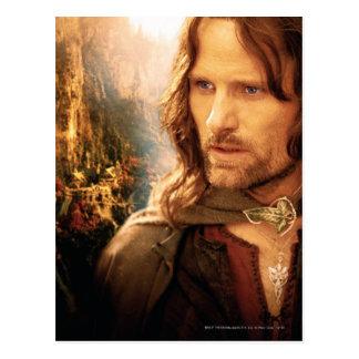 Aragorn und Rivendell Zusammensetzung Postkarte