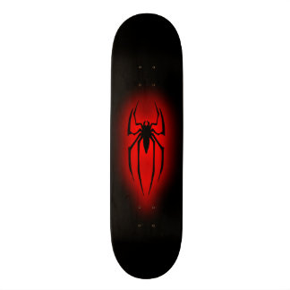 Araignée - rouge skateboard customisable