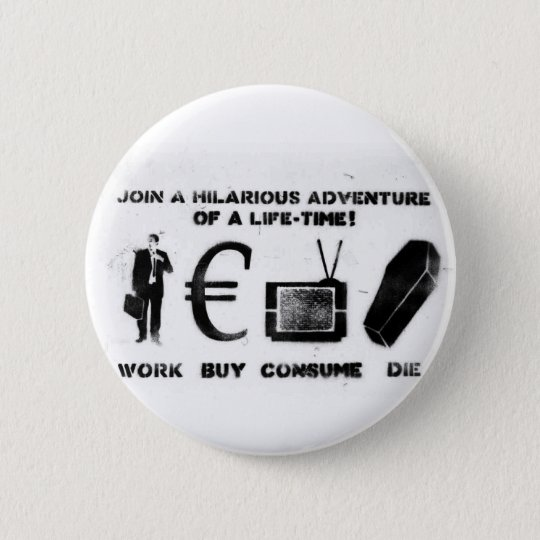 Arbeits-Kauf verbrauchen die Runder Button 5,7 Cm