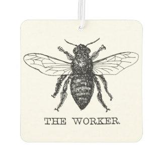 Arbeitskraft-Bienen-Hummel-Vintages motivierend Autolufterfrischer