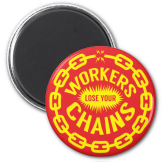 Arbeitskräfte verlieren Ihren Ketten-Magneten Runder Magnet 5,1 Cm