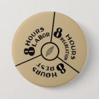 Arbeitsspiel des Schlafes 8 Runder Button 7,6 Cm