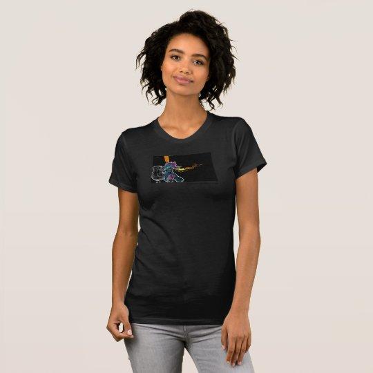 """Arbitrairians """"dynamische Kraft """" T-Shirt"""