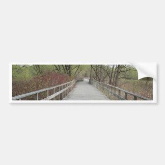 Arboretums-Promenade Collingwood Ontario Autoaufkleber