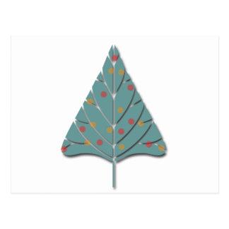 Arbre de Noël Carte Postale