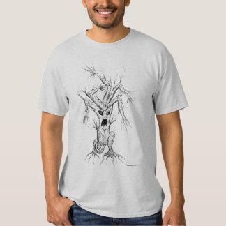 Arbre fâché tee-shirts