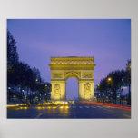 Arc de Triomphe, Paris, France, Posters