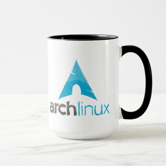 Arch linux / GNU freedom mug Tasse