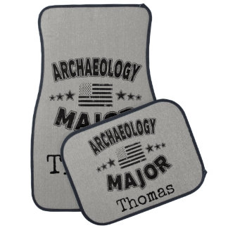 Archäologie-Uni-Major patriotische amerikanische Autofußmatte