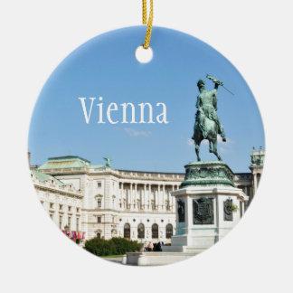 Architektur in Wien, Österreich Keramik Ornament