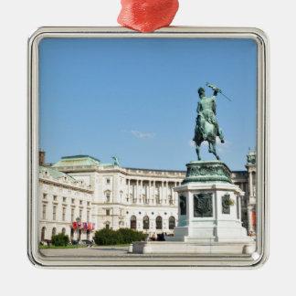 Architektur in Wien, Österreich Silbernes Ornament