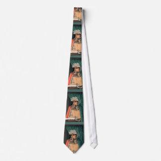 Arcimboldo - der Bibliothekar - einzigartiges Personalisierte Krawatten