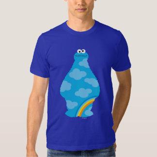Arcs-en-ciel de monstre de biscuit tee-shirts